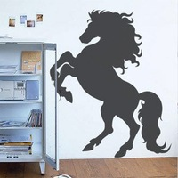 Free Shipping Wholesale  Wall stickers Home Garden Wall Decor  Vinyl Removable Art Mural Home decor HORSE L-78