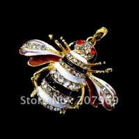 Free Shipping Adorable Jewelry Bee USB Flash Drive 4gb/8gb/16gb/32gb Usb disk