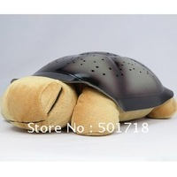 2Pcs Music Night Star Constellation Turtle Gift Toy for Baby Child