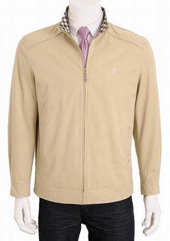 Free Shipping Business Casual Style Men Jacket Mandarin Collar Gentlemen Coat Men's Short Coat Wholesale Jackets MJ0104-2