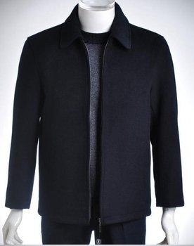 Free Shipping Windproof  Men Business Jacket Turn Down Collar Gentlemen Casual Short Coat Men Coat Male Jacket MJ0104-1