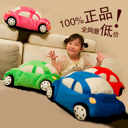 Free shipping wholesale Simulation car plush toys pillow cushions home furnishing Jushi children birthday gift(China (Mainland))