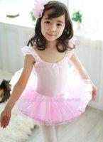 wholesale childrens kids girls leotard ballet dress dance tutus #628