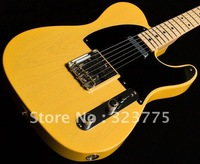 Custom Shop Wildwood Telecaster yellow solid Electric Guitar