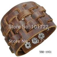 Wholesale 2014 Trendy Braided Leather Bracelet
