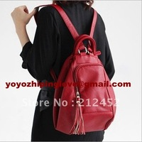 Promotion!!! Special offer womens double use leather fashion personalized backpacks,1 pc wholesale,free shipping