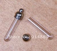Free Shipping!!! Glass Bottles Pendants Vial pendants Rice Art Jewelry Pendants