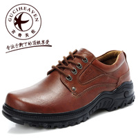 Goodge enjoy the loggerhead leather daily casual commercial leather men's low genuine leather casual shoes male