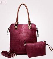 2014 new fashion high quality brand designer women ladies totes bags composite bags ladies popular Free Shipping women handbags