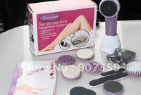 5pcs/lot Derma Seta  Massager Ultimate Full Body SPA Treatment System,Massager Cleaning Kit,Hair Remove,Exfoliafes Dry Skin