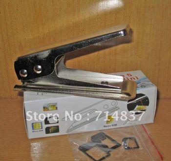 10pcs/lot Nano sim card cutter for iPhone 5 5g & iPad mini,perfect regular sim card cutter for iPhone 5 5g,Free shipping