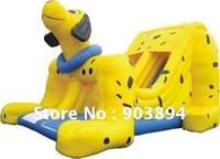 Giant Inflatable Yellow Dog Slide With CE/UL Blower For Kids(CE Certificate)