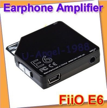 FiiO E6 Portable Earphone Headphone Amplifier Improved E5 Mini Amp Audio Player