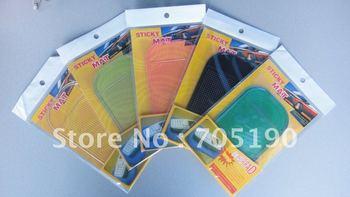 Wholesale Magic Non slip sticky pad anti slip mat Car Anti slip Pad Washable Durable with retail box Free shipping 10pcs/lot