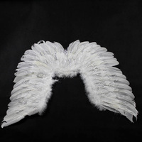 Nice Seller- Child products white feather wings liangsi feather wings with Good Price