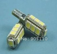 Can-bus Car Led lights,DC12V input, 13pcs 5050SMD LED,Resistance drive,Free shipping