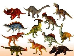 free shipping,12 pcs/set,15-18cm Creative pvc dragon/dinosaurs set/kids figures toy dinosaurs model gift.wholesale gift