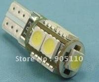 Can-bus Car Led lights,DC12V input, 9pcs 5050SMD LED,No-polarity,Free shipping