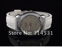 Wholesale!! brand new women's men's silicone strap wrist watches 7 colors can mix ,50pcs/lot Free shipping