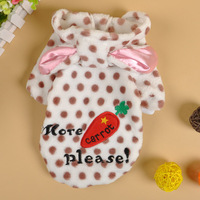 Cospets vip teddy puppy chigoes bo pet clothes autumn and winter sploshes radish