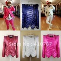 2014 Autumn Winter Fashion Women's Coat with Slim Short Design Cotton Padded Jacket Outwear 5 Colors FREE SHIPPING ML01