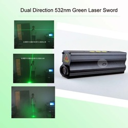Dual Direction 532nm Green Laser Sword (532nm 100mw double-headed laser )(China (Mainland))