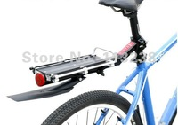 Mountain Bike Alloy Carrier with Mudguard and Safty Light  Free Shipping