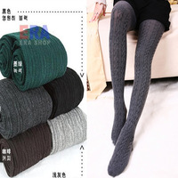 New arrivel!free shipping fashion 2013 twisted pantyhose thread basic pants step legging for women slim+cheaper price