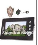 7Inch Color Video Door Phone One Moniter and One Camera, Wireless Video Door Phone