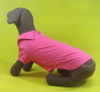 Pet clothes summer large dog polo shirt t-shirt