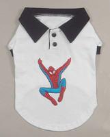 Pet clothes summer applique polo t-shirt vip bo