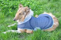 Pet clothes large dog clothes denim mantissas