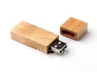 Classic Long square timber Genuine wood USB 2.0 Memory Stick Flash 4gb/8gb/16gb/32gb  Pen Drive