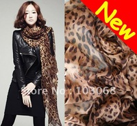 New Fashion Leopard Soft Shawl Scarf Wrap Long Stole HOT !!!