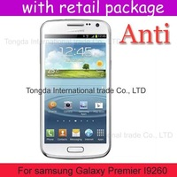 Anti-Scratch Anti Matte Glare 100x screen protector guard for samsung Galaxy Premier I9260,retail pacakge,DHL shipping