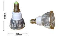 Free shipping.10Pcs/lot E14 4W LED Bulb spotlight 85-265V 360 lumens Ultra Bright High Power Bulb