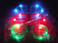 free shipping led light up shutter shades for wedding