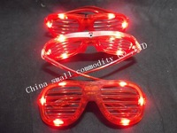 free shipping led glasses flashing party halloween