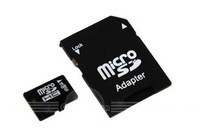 Free shipping 2GB-32GB Micro SD TF Card + SD Card Adapter as a gift!