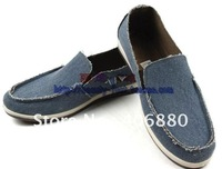 Best selling! Fashion men canvas shoes soft sole sports flats Free shipping 1pair