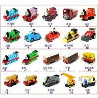 Free shipping Thomas small train toy alloy train head magnetic (mix style) 3pcs/set