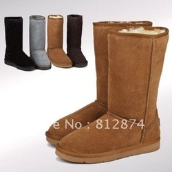 Christmas 2013 sheepskin fur snow boots , winter boots for women 5815 5825 5803 boots with original box(China (Mainland))