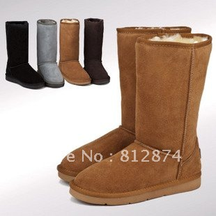 Christmas 2013 sheepskin fur snow boots , winter boots for women 5815 5825 5803 boots with original box