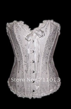New fashion black and white corset lingerie,body shaping underwear S-6XL size