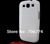 50pcs/lot Plastic Case Cell Phone Clear Case Skin transparent hard case for Samsung Galaxy S3 i9300