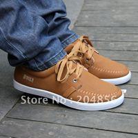 free shipping men's shoes low-top shoes single shoes nubuck leather shoes skateboarding shoes popular men's
