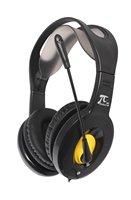 Free shipping Computer earphones headset notebook desktop headset with microphone multimedia stereo earphones Headphones