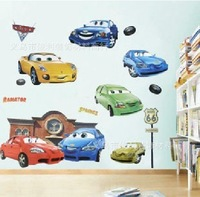 FREE SHIPPING wholesale 5pcs/ lot  cars decorative wall sticker for kids room home wall decor