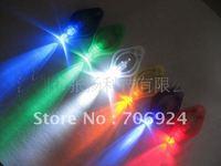 High Quality-Free shipping (500pcs/lot ) MINI F5 Light colored LED Bulb Thumb Colorful Light Keychain Hand-Pressing Flashlight