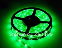 Free Shipping Flexible LED Strip Light 150Leds 5m Waterproof + Controller + Power Green